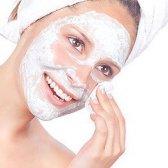 máscara de bicarbonato de sódio