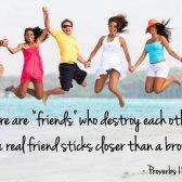versículos bíblicos sobre a amizade