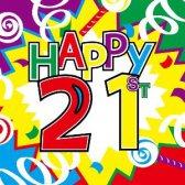 Top 50 mensagens de aniversário despeje amigo: mensagens de aniversário de 21 anos