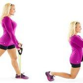 10 banda de resistência Fácil exercícios para homens e mulheres para fazer em casa