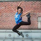 Um dia na vida de um dançarino Broadway e instrutor flybarre