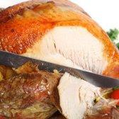 Um dos guia fictício para as formas mais saudáveis para comer a acção de graças Turquia