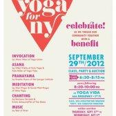 Parte da yoga para suportar mais yoga em Nova York