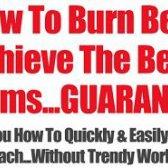 Belly Fat Burner - lutou sua gordura da barriga assistente eficaz para você olhar estômago sexy?