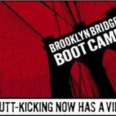 Ponte de Brooklyn partida acampamento em 15 de junho de treino com muito bom +