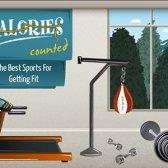 calorias contadas: os melhores esportes para a aptidão [infográfico]