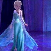 Elsa o vestido de casamento inspirou a Disney congelados nas lojas no próximo ano!