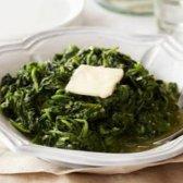 Receitas fáceis e saudáveis espinafre cozido