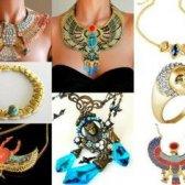 Tendência de jóias egípcio