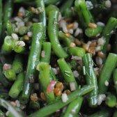 Saudável Food 52: feijão verde, salada Wheatberry e cevada