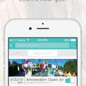 Saudações namoro aplicativo permite que você se apaixonar em um festival de música