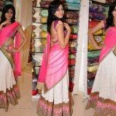 Metade sari - uma tendência para a tradição