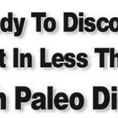 perda de peso saudável com aviso de dieta paleo - ele é confiável?