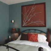 Comentar equilibrar as paredes com decoração de parede arte