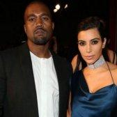Kim Kardashian Kanye West deseja feliz aniversário em mídias sociais