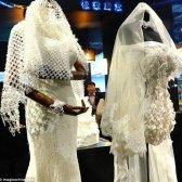 Tomando sobre o futuro da moda nupcial - 3d vestidos de casamento impressos!