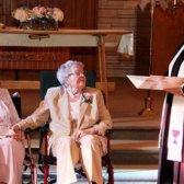 casal do mesmo sexo Boyack Vivian e Alice Dubé levou aos 72 anos de estar juntos