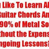 Rasgue - aprender heavy metal avaliação guitarra - ele é confiável?