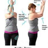 Os 29 melhores dicas de alívio da dor e dos exercícios de volta superiores