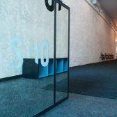 Novo local de treino chique em Tribeca executivos moda e atletas
