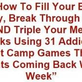 Turbulência Formação de revisão jogos boot camp - programa de jogo Brian