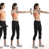 7 melhores exercícios para o ombro para as mulheres com vídeos