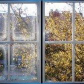 Umidade em janelas painel duplo