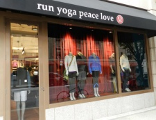 Contemplando loja: New escavações dentro Madison Avenue lululemon